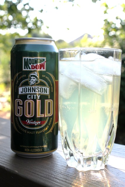Johnson City Gold soda